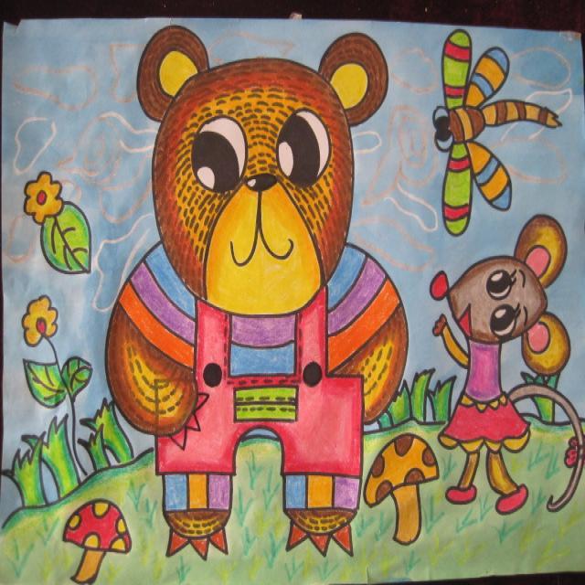 儿童画小动物-书香中国-书香中国